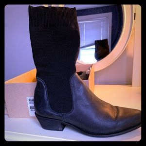 Free People: Merritt Stretch Western boots